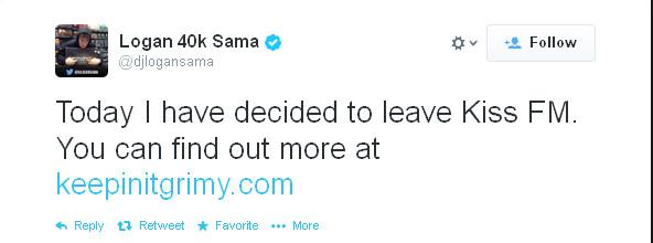 Logoan sagma Tweet