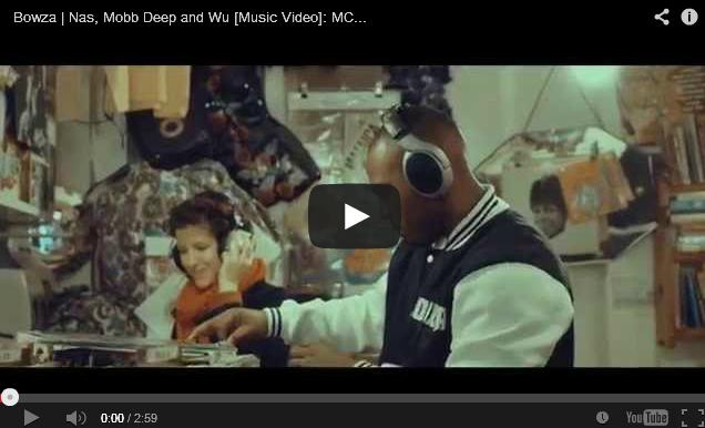 BRITHOPTV: [Music Video] Bowza (@Bowzauk) - 'Nas, Mobb Deep, &Wu' [@MCTVUK] | #UKRap #UKHipHop