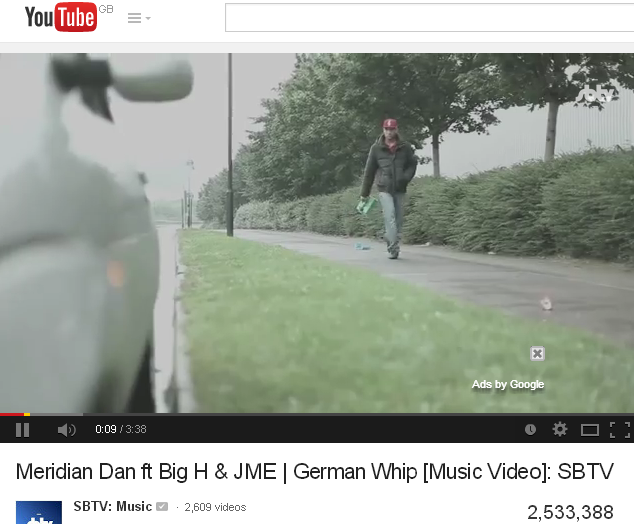 Meridian Dan ft Big H  JME German Whip 2 point 5M