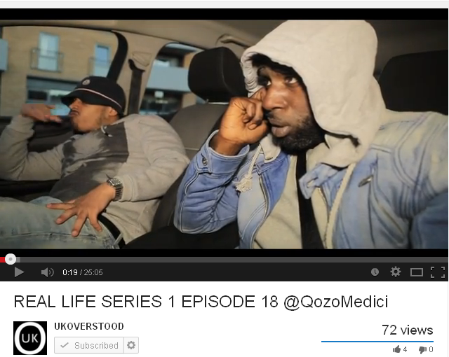 BRITHOPTV: [Web Show] @Qozomedici - 'Real Life' [S1:E01-18] | #Drama #UrbanDrama