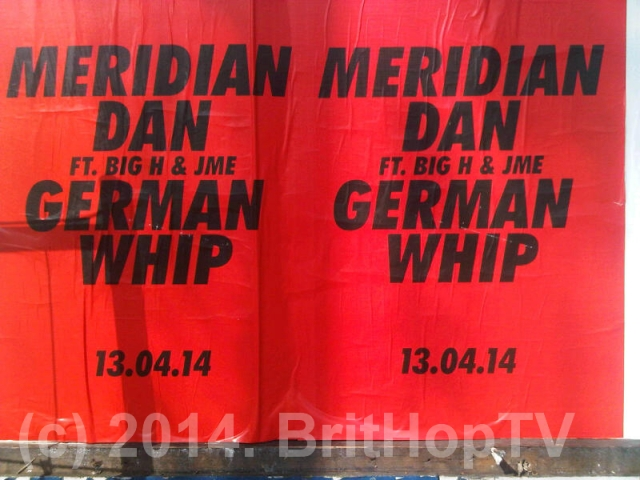 Red German whip WM