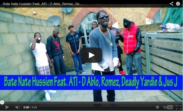 [Music Video] Bate Nate Hussien ( @B8nate) - ' Outlaw Looking At You Feat. ATI - D Ablo, Romez, Deadly Yardie & Jus J' [ @MisjifTV] UK Rap