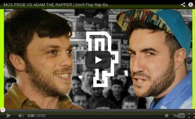 BRITHOPTV- [Battle Video] Mos Pro ( @adamdfelman) Vs Adam The Rapper ( @adamkammerling) [ @DontFlop]- #UKHipHop #UKBattleRap