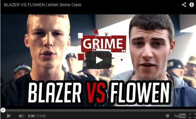 BRITHOPTV- [Battle Video] WAW Grime Clashes- Blazer ( @mcbutchaman) Vs Flowen ( @owenchapman6666) [ @wawgrimeclashes] -Grime