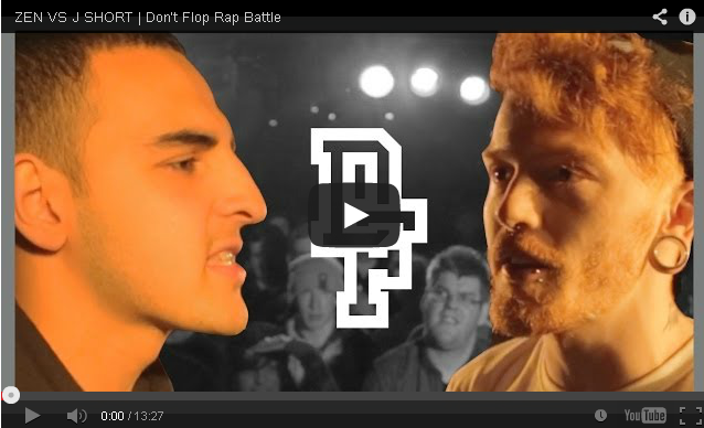 BRITHOPTV- [Battle Video] Zen ( @ZenLeeds) Vs J Short ( @IAmJShort) [ @DontFlop] - #UKHipHop #UKBattleRap
