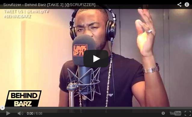 BRITHOPTV- [Behind Barz] Scrufizzer ( @SCRUFIZZER) – ' #BehindBarz' [TAKE 3] [ @LinkUpTV] - UK Rap UK Hip Hop