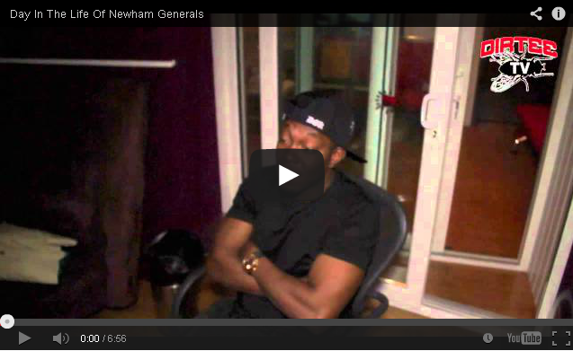BRITHOPTV- [Behind The Scenes] – A Day In The Life Of – Newham Generals ( @NewhamGenerals) [Dirtee TV] - Grime UK Rap