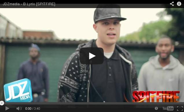 BRITHOPTV- [Freestyle Video] B Lyrix ( @BLyriX_FOD) – ' #Spitfire' [ @JDZMedia] - Grime UKRap