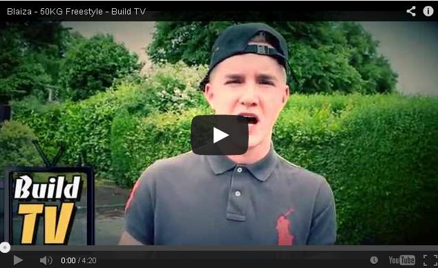 BRITHOPTV- [Freestyle Video] Blaiza ( @Blaiza_MC) – ' #50kg Freestyle' [Build TV - Dir. @itsJaymalD ] -DNB Drum N Bass.