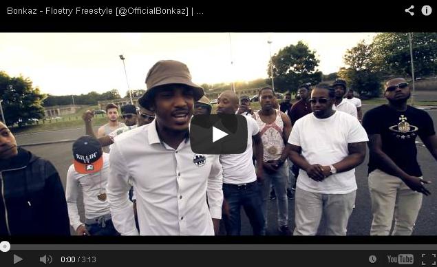 BRITHOPTV- [Freestyle Video] Bonkaz ( @BonkazOfficial) – ' #FloetryFreestyle' - UK Rap UK Hip Hop