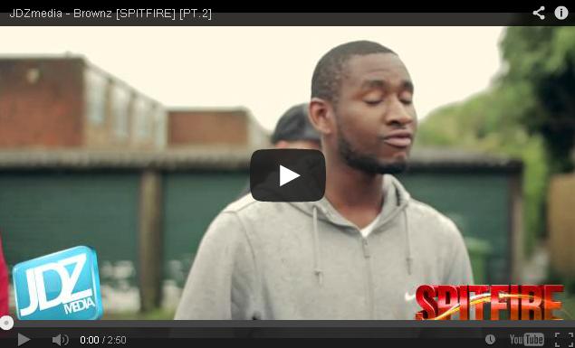 BRITHOPTV- [Freestyle Video] Brownz ( @Brownz_FOD) – ' #Spitfire' PT.2 [ JDZ Media] - Grime.