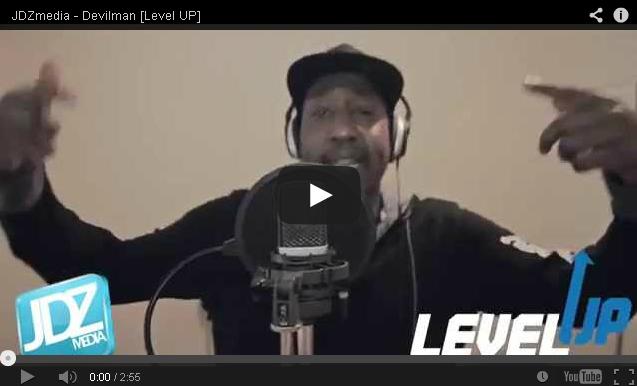 BRITHOPTV- [Freestyle Video] Devilman ( @Devilman_Wunsen) – ' #LevelUp #Freestyle' [ @JDZMedia] -Grime UK Rap.