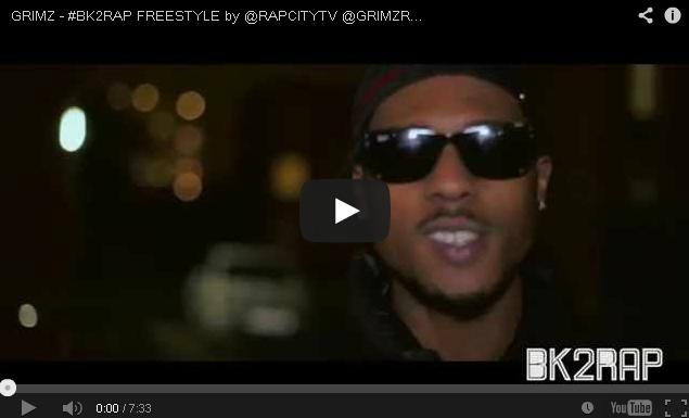 BRITHOPTV- [Freestyle Video] Grimz (GrimzRealRap) ' #BK2RAP #Freestyle' [ @RAPCITYTV]- UKRap UK HipHop.