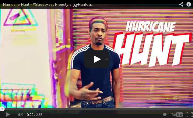 BRITHOPTV- [Freestyle Video] Hurricane Hunt ( @HuntCashFlow) – #StreetHeat Freestyle - UK Rap UK Hip Hop