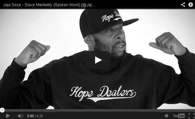 BRITHOPTV- [Freestyle Video] Jaja Soze ( @JajaPDC) – 'Slave Mentality' ( Spoken Word) - UKRap Poetry