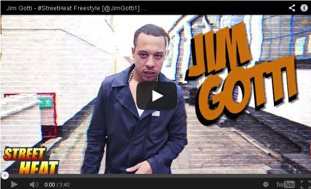 BRITHOPTV- [Freestyle Video] Jim Gotti ( @JimGotti1) – #StreetHeat Freestyle - #UKRap #UKHipHop.