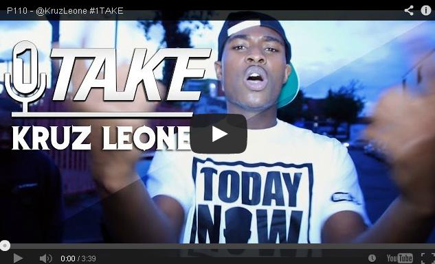 BRITHOPTV- [Freestyle Video] KruzLeone ( @KruzLeone) – #1TAKE #Freestyle [ P110 Media] - Grime