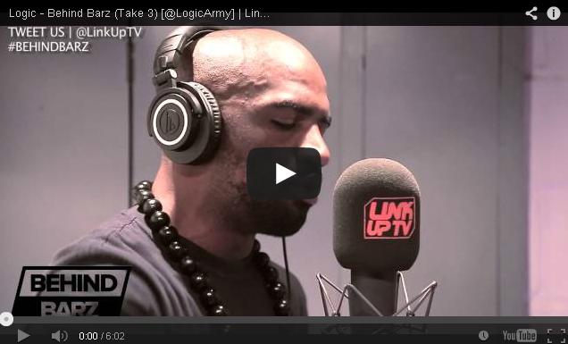 BRITHOPTV- [Freestyle Video] Logic ( @LogicArmy) – ' #BehindBarz' (Take 3) Freestyle - UKRap UKHipHop