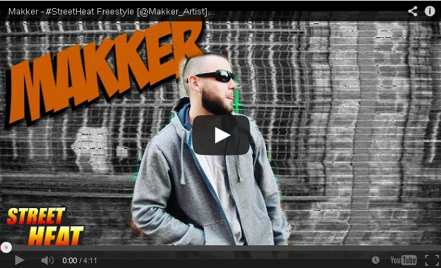 BRITHOPTV- [Freestyle Video] Makker – #StreetHeat Freestyle - UK Rap UK HipHop