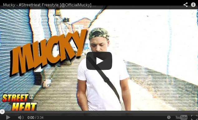 BRITHOPTV- [Freestyle Video] Mucky ( @OfficialMucky) – #StreetHeat Freestyle - UK Rap UK HipHop.