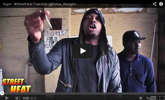 BRITHOPTV- [Freestyle Video] Signs ( @follow_thesigns) – #StreetHeat Freestyle - UKRap UK Hip Hop.