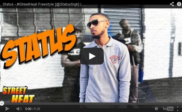 BRITHOPTV- [Freestyle Video] Status ( @Status5rgb) – #StreetHeat Freestyle - UKRap #UKHipHop.