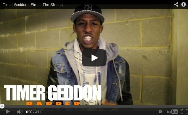 BRITHOPTV- [Freestyle Video] Timer Geddon ( @TIMERGEDDON) – ' #FireInTheStreets' [ @CharlieSloth] - UK Rap UK HipHop.