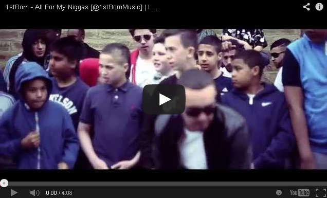 BRITHOPTV- [Music Video] 1stBorn ( @1stBornMusic) – 'All For My N----s' - UKRap UK HipHop.