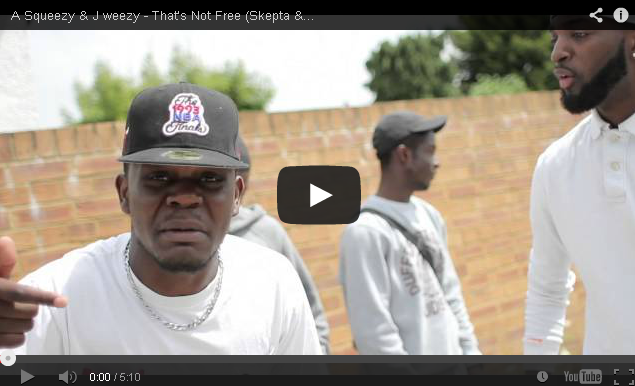 BRITHOPTV- [Music Video] A-Squeezy ( @ASQUEEZY) & J Weezy ( @JazzieMovement) – 'That's Not Free ' ( @Skepta & @JMEBB Parody)' - Grime UK Rap.