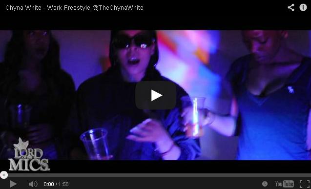 BRITHOPTV- [Music Video] Chyna White ( @TheChynaWhite ) – 'Work Freestyle ' - UK Rap UK HipHop