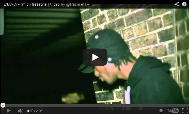 BRITHOPTV- [Music Video] D'BWOi ( @ITSDBWOI) – 'I'm on freestyle' [ @PacManTV] - UK Rap UK Hip Hop