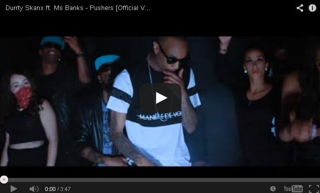 BRITHOPTV- [Music Video] Durrty Skanx ( @DurrtySkanx) – 'Pushers ft. Ms Banks ( @MsBanks92)'- UK Rap UK HipHop.