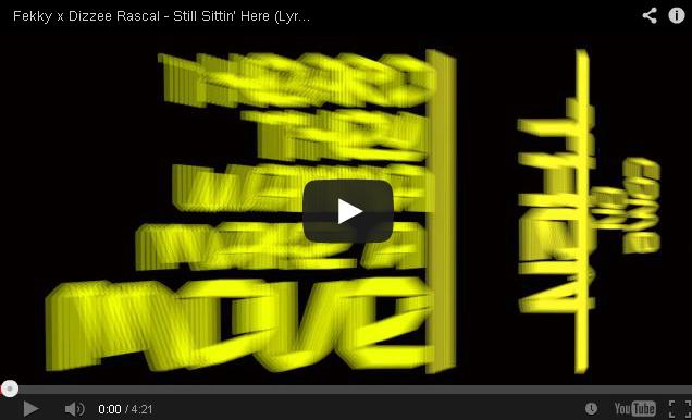 BRITHOPTV- [Music Video] Fekky ( @FekkyOfficial) x Dizzee Rascal ( @DizzeeRascal) – 'Still Sittin' Here' (Lyric Video) - UK Rap Grime