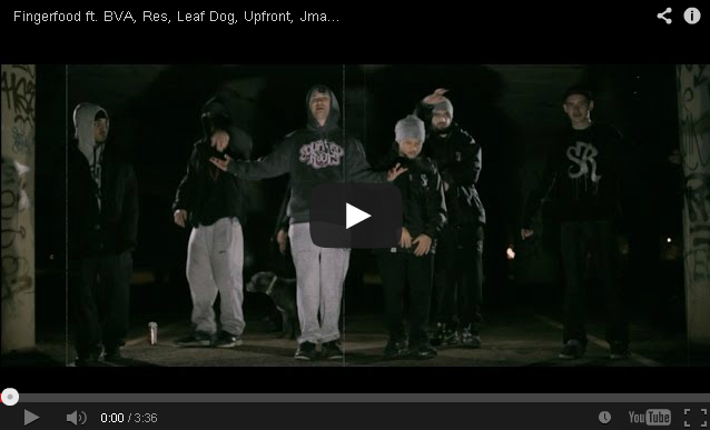 BRITHOPTV- [Music Video] Fingerfood – 'Back to the Roots ft. BVA , Res, Leaf Dog, Upfront, Jman, Flying Monk' - #UKRap #UKHipHop.