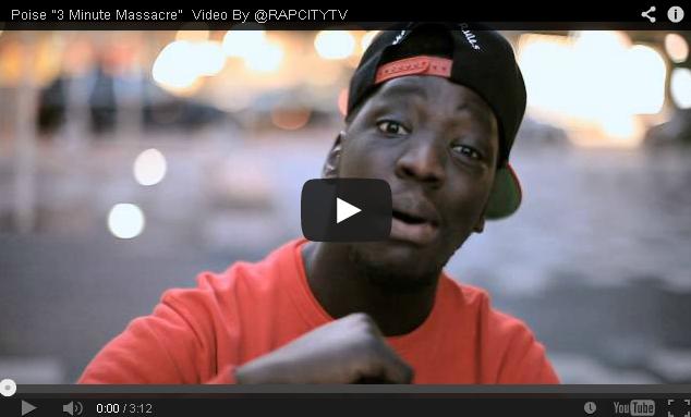 BRITHOPTV- [Music Video] Poise ( @OriginalPoise) – '3 Minute Massacre' - UK Rap UK Hip-Hop