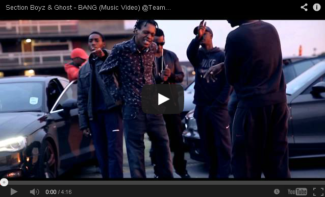 BRITHOPTV- [Music Video] Section Boyz & Ghost (@TeamSqueeze) – 'BANG' - UK Rap UK Hip Hop