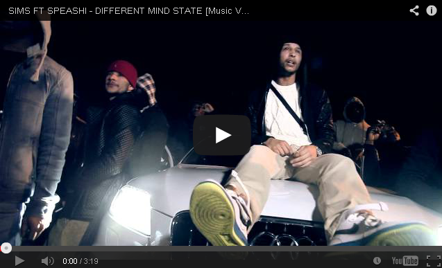 BRITHOPTV- [Music Video] Sims ( @Official_Sims) – 'Different Mind State ft. Speashi' UK Rap UK HipHop