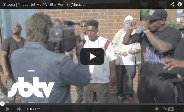 BRITHOPTV: [Music Video] Skepta  - 'That's Not Me Remix Ft.  Featuring D Double E, Tempa T, President T, Sox & Jaykae 'Grime
