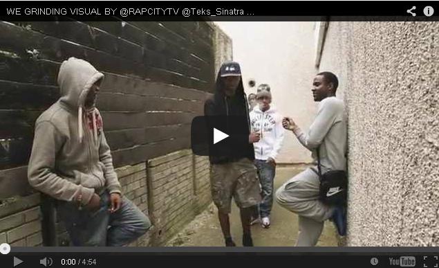 BRITHOPTV- [Music Video] @Teks_Sinatra @Coolie_YCC @YoungSteamz – 'We Grinding' [ @RapCityTV] - UKRap UKHipHop.