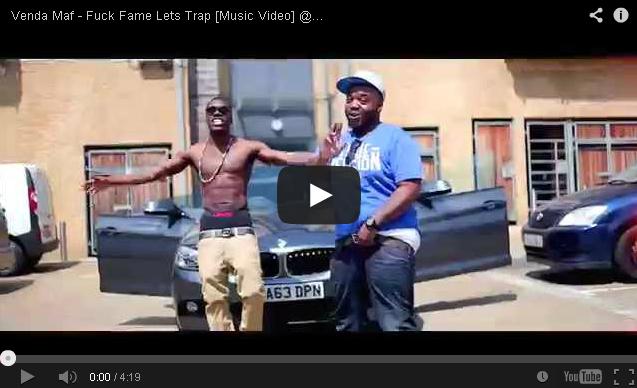 BRITHOPTV- [Music Video] Venda Maf ( @VendaMaf) – 'Fuck Fame Lets Trap' - UK Rap UK HipHop