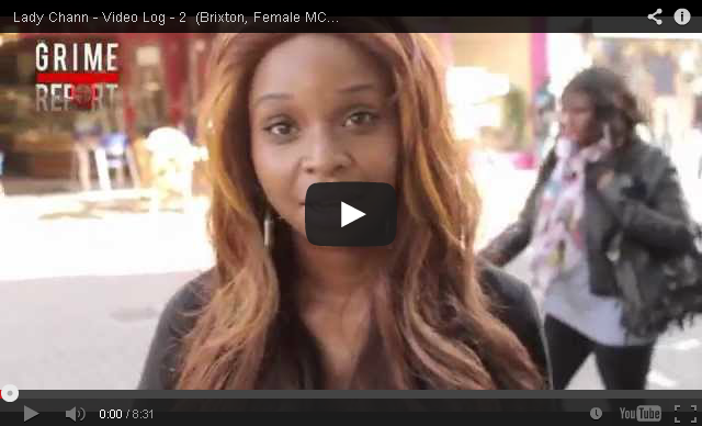 BRITHOPTV [Video Diary] Lady Chann ( @LadyChann) 'Vlog Part 2- (Brixton, Female MC's, Fights, Cats & More) [ @GrimeReportTV]