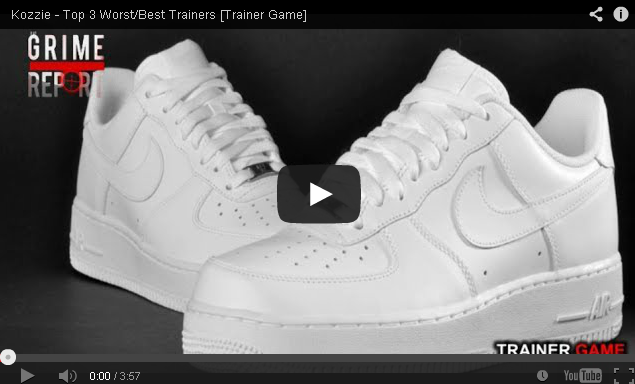 BRITHOPTV- [Video Interview] Kozzie ( @TheOfficialKozzie) – Top 3 Worst & Best Trainers [ #Trainer Game] - Grime Trainers Creps