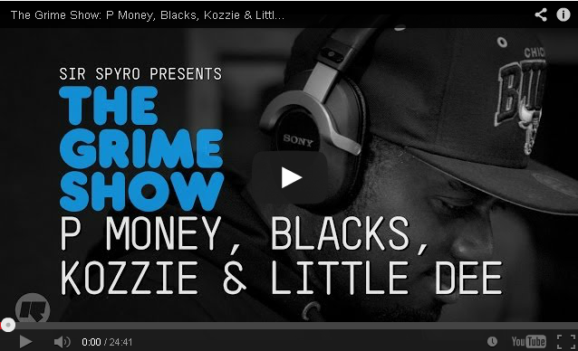 BRITHOPTV- [Video Set] P Money (@KingPMoney), Blacks ( @kingblacks ), Kozzie ( @officialKozzie) & Little Dee ( @LittleDeeMusic) on @SirSpyro #GrimeShow [ @RinseFM]-#Grime.