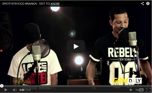 BRITHOPTV: [Live Acoustic Performance] Brotherhood ( @BrotherhoodUK) - ' #KAGet2Know' [GRM Daily] | Grime UK Rap
