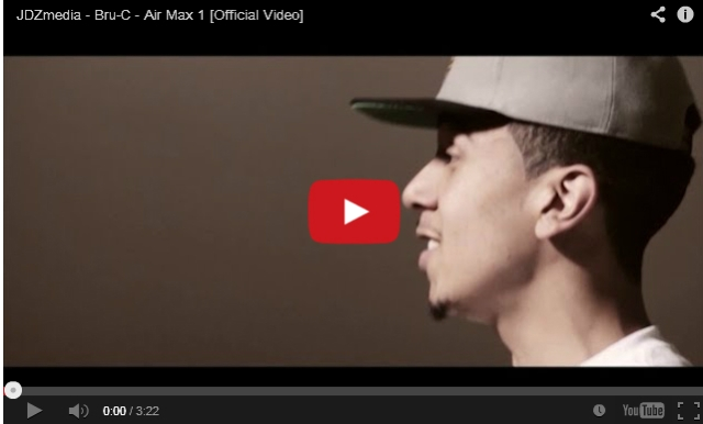 BRITHOPTV: [Music Video] Bru-C ( @ItsBru_C) - 'Air Max 1'  [ @JDZMedia]   UK Rap UK HipHop