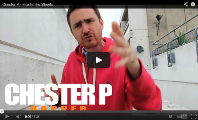 BRITHOPTV: [Freestyle Video] Chester P ( @ChesterP_TF) - ' #FireInTheStreets' [ @CharlieSloth] | #UKRap #UKHipHop