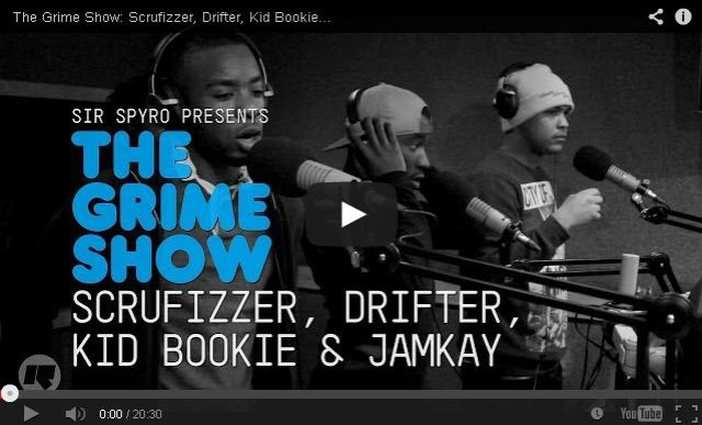 BRITHOPTV: [Video Set] @Scrufizzer @SirDrifter @KidBookie @Jamkay1 on @SirSpyro #GrimeShow [ @RinseFM] |#Grime