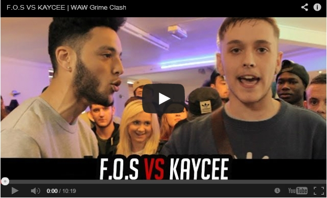 BRITHOPTV: [Battle Video] WAW Grime Clashes: F.O.S ( @plangeette) Vs Kaycee [ @wawgrimeclashes] |Grime