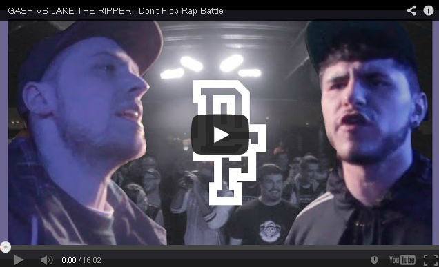 BRITHOPTV: [Battle Video] Gasp ( @GaspTheBeing) Vs Jake The Ripper  [ @DontFlop] | UK Hip-Hop UK BattleRap
