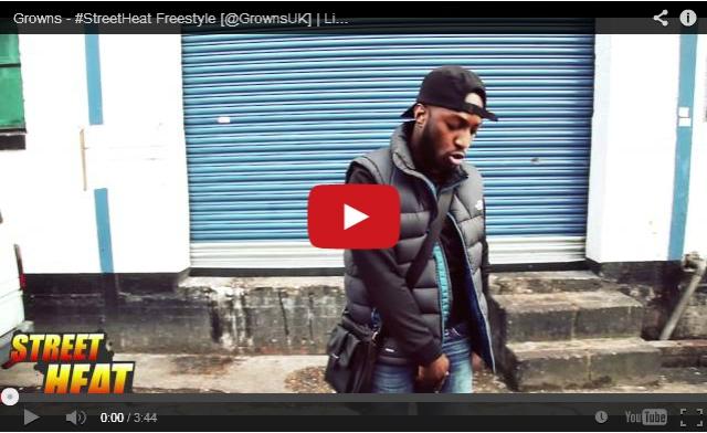 BRITHOPTV: [Freestyle Video] Growns ( @GrownsUK) - #StreetHeat Freestyle | #UKRap #UKHipHop